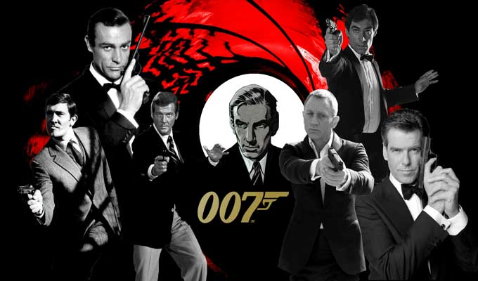 Video creator mashups: James Bond fights himself
