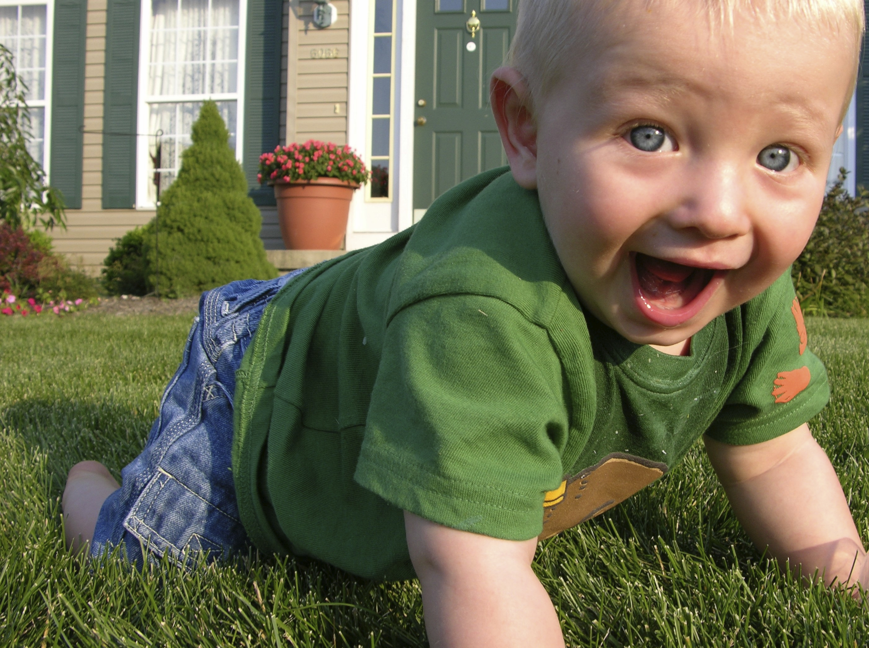 Use video slideshow software to create a highlight reel of your kids