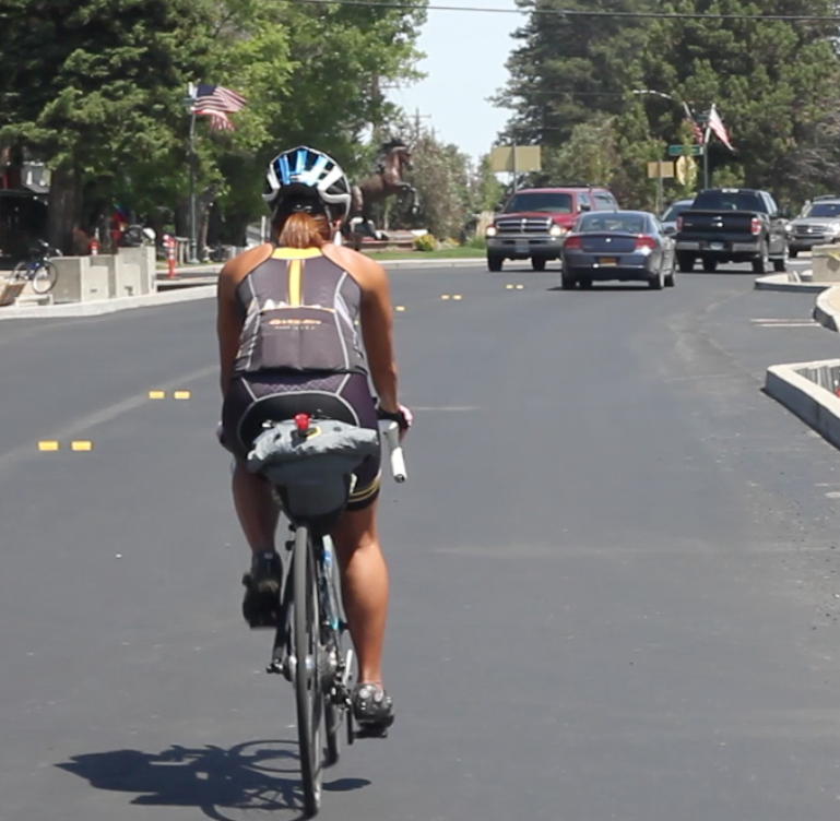 angie across america: cycling safety