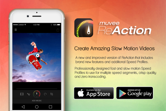 muvee ReAction: Multiple Fast and Slow Motion Sequences