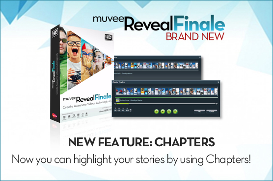 All new: muvee Reveal Finale