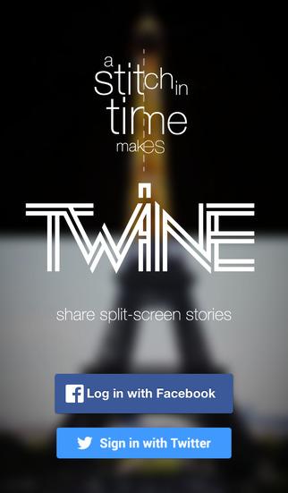 TWINE - share split screen stories