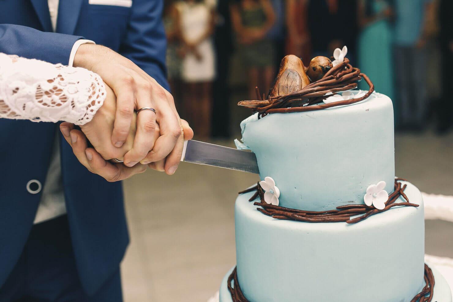 wedding cake cutting muvee. Black Bedroom Furniture Sets. Home Design Ideas