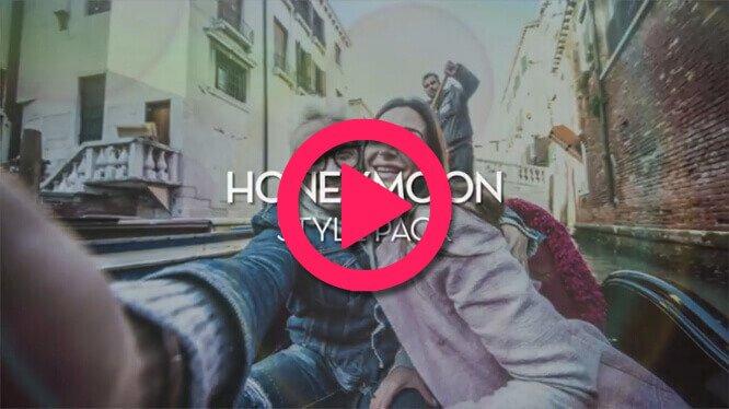 muvee wedding Studio Honeymoon Styles